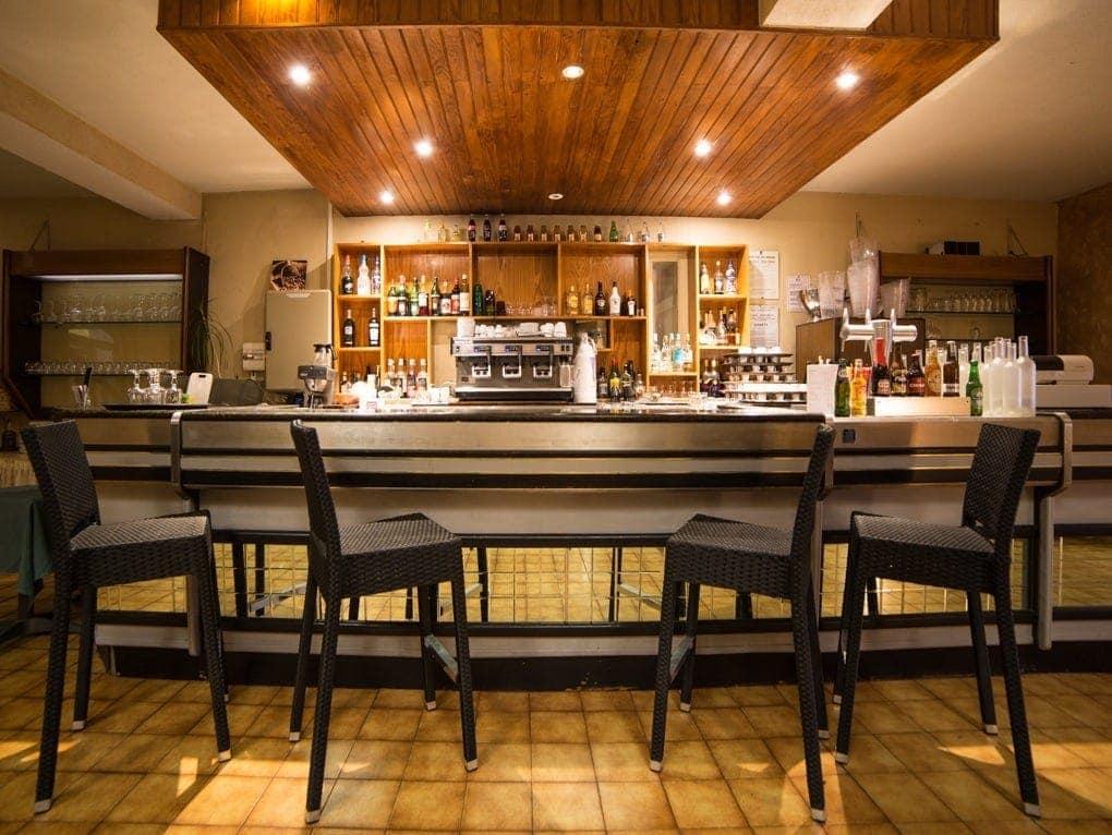 Bar au Clos de l'Aube Rouge - Hotel Restaurant Montpellier