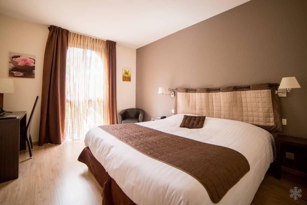 King Size room Le Clos de l'Aube Rouge Hotel Montpellier