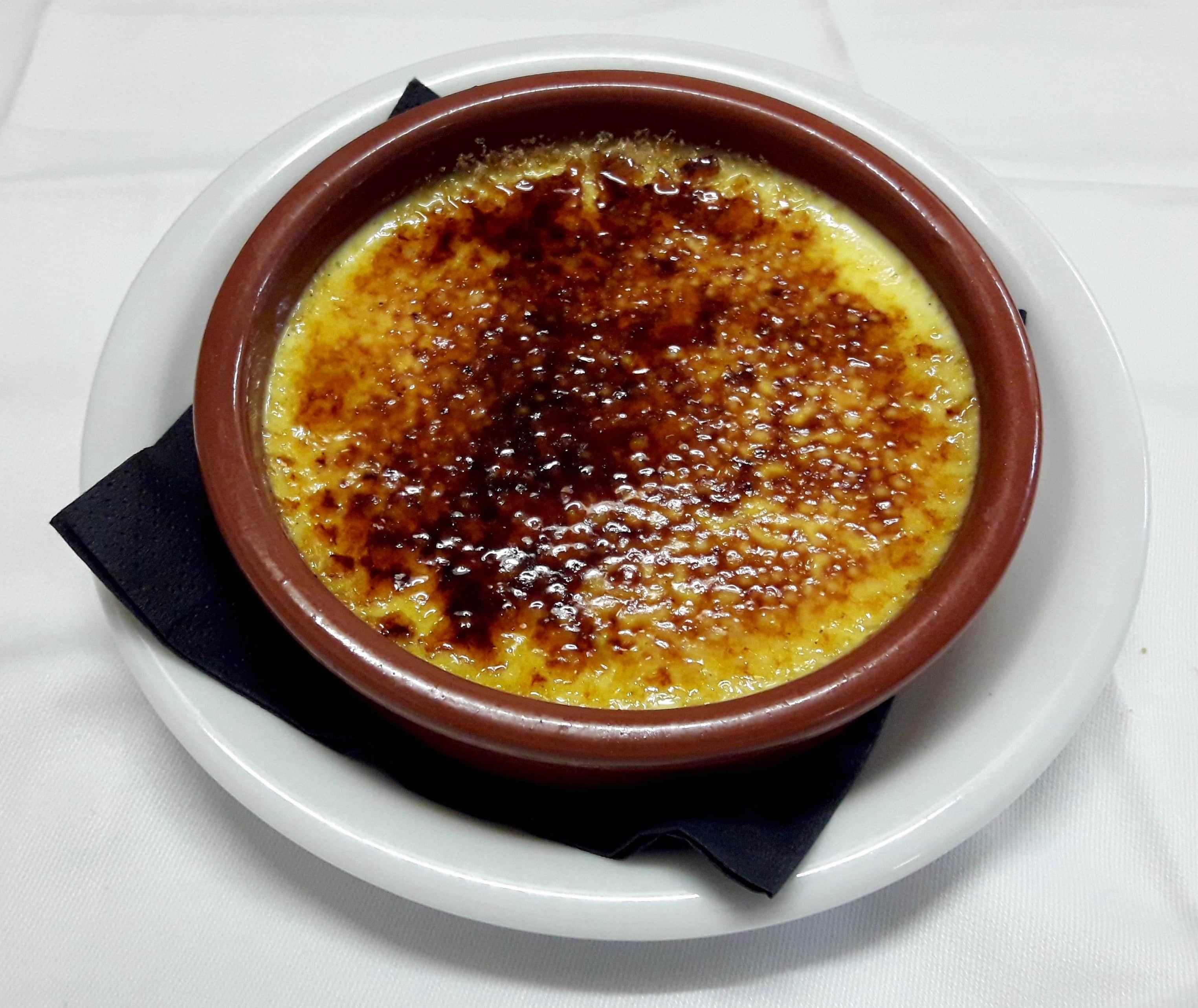 """Crème brûlée """"La Vraie"""""""