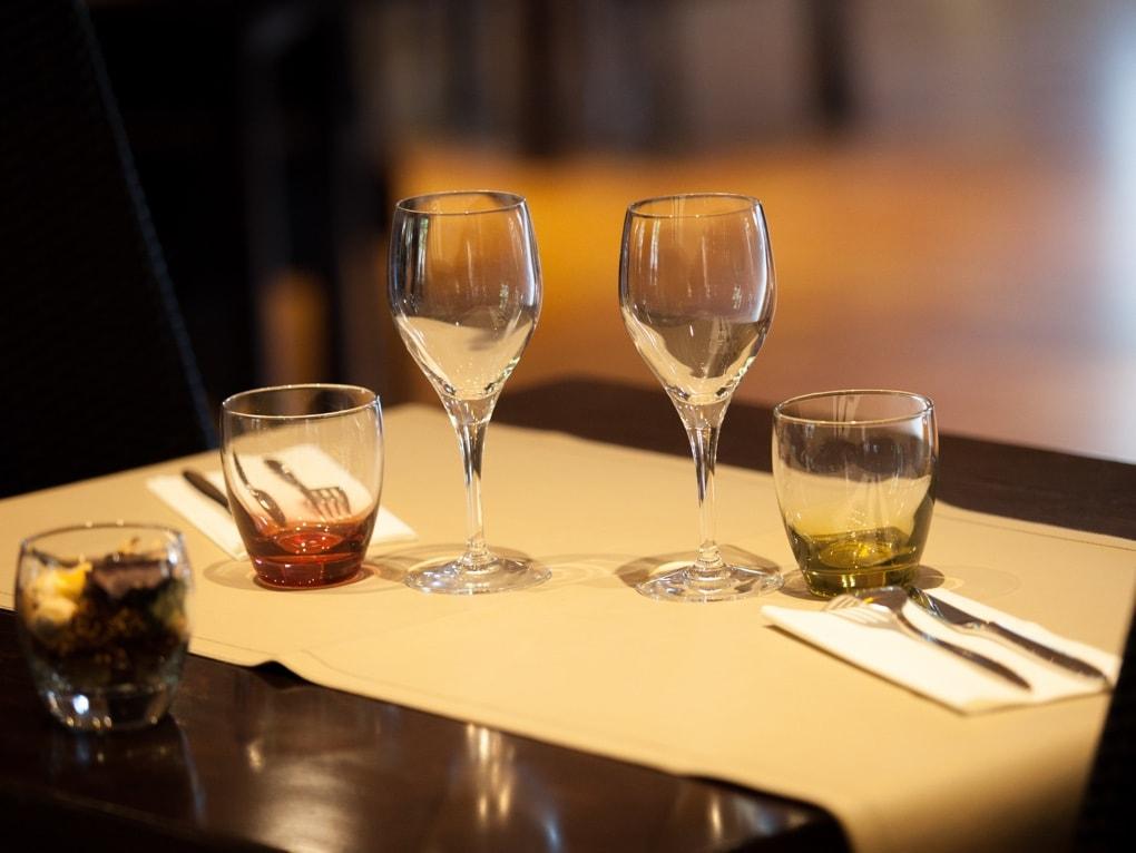 Table restaurant ô Saveurs de l'Aube Rouge
